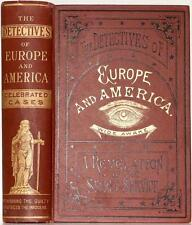1883 DETECTIVES OF EUROPE AND AMERICA LIFE IN THE SECRET SERVICE ILLUSTRATED VG+