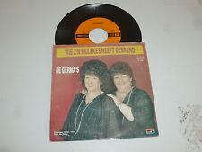 """DE GERMA'S - Eenmall Komt De Liefde In Je Leven - 1987 Dutch 7"""" Juke Box Single"""
