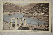 """CPA """" Environs de ST CLAUDE - Barrage d'Etables et le Lac"""