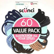 Scunci No Damage Hair Elastics 60 Ct Value Pack