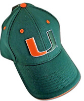 Miami Hurricanes hat NCAA Team logo CAP NEW!! One Size Stretch Fit