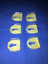 (6) NOS OEM GM CLIP OUTER PANEL MOLDING 7661013