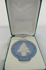 Wedgwood 1988 Christmas Tree Annual Jasperware Ornament - Mib