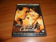 Chocolat (DVD, Widescreen 2001) Johnny Depp
