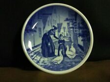 Lovely Vtg.Royal Copenhagen Denmark Fajance Dragor Amager Blue Flow Mini Plate