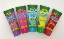 Crayola Bathtub Fingerpaint Set Soap Tubes - 3 oz - Assorted Colors - Set of 5