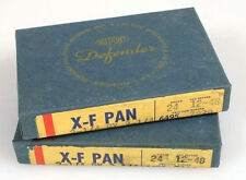 2.25x3.25 X-F PAN FILM, SET OF 2 UNOPENED EXP. DEC. 1948