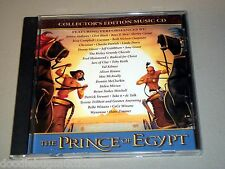 1998 THE PRINCE OF EGYPT Movie Collector's Edition Christian Music Soundtrack CD