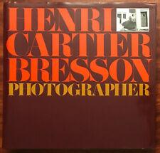 Henri Cartier-Bresson : Photographer by Henri Cartier-Bresson 1992 HC