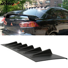 Fits 08-16 Mitsubishi Lancer X EVO 10 ABS Rear Roof V Style Shark FIN Spoiler