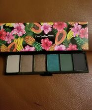 MAC Fruity Juicy x 6 Love In The Glades Eye Shadow Palette Sold Out BNIB