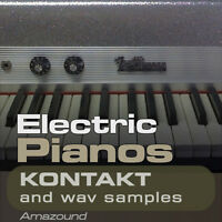 64 ELECTRIC PIANOS & RHODES for KONTAKT nki INSTRUMENTS + 890 WAV SAMPLES MAC PC
