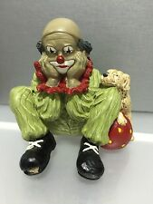 "Gilde Clown "" sitzend "" 11,5 cm. Top Zustand !!"