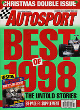 Autosport 24/31 Dec 1998 - Villeneuve,  Goodbye Goodyear, Touring Cars, Needell
