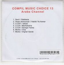 (GH916) Compil Music Choice 13, Arabe Channel - DJ CD