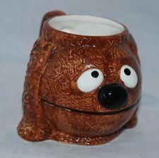 Vintage Muppets Rowlf the Dog Figural Mug by Sigma Tastesetter