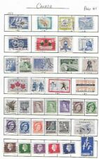 CANADA  36 Commemorative used Stamps Page 41