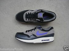 Nike Air Max 1 Essential 44 Black/Hyper Grape-Light Ash