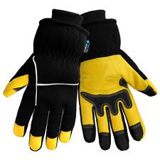 Genuine Deerskin Palm woTHUNDER GLOVES Global Gloves Super Warm S/Large Mechanic
