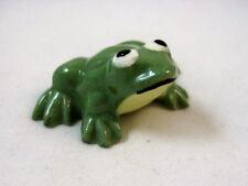 Hagen Renaker miniature made in America Frog Mama style one yellow throat HTF