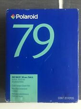 Polaroid 79 color instant sheet film