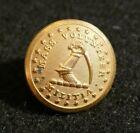 Civil War Massachusetts Volunteer Militia Uniform Coat Button 'Extra Rich' Orig.