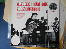 "EDDIE COCHRAN  LP UNION  PACIFIC  "" A LEGEND IN OUR TIME ""  [UK]"
