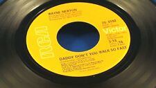 WAYNE NEWTON - Daddy Don't You Walk So Fast / Walkin' In The Sand - NEAR MINT 45