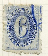Numeral Cancellation Used North American Stamps