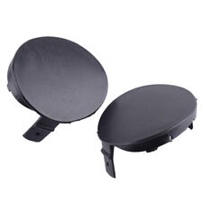 Pair Tow Hook Cover Cap 52128-02910 Fit for Toyota Corolla 2007 2008 2009 Black