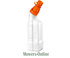 Genuine Stihl 1 Litre 2 Stroke Oil Petrol Fuel Mixing Bottle 25:1 50:1