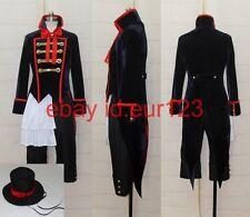 Black Butler Kuroshitsuji Drocell Cosplay Costume Custo