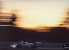 Le Mans 1991 Mercedes C11 Disc Glow Gloss Photograph
