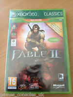 XBOX 360 FABLE II GAME BRAND NEW SEALED MICROSOFT 2