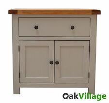 Tuscan Painted Sideboard /Grey/ Oak / Mini / Dresser / Storage / Solid Wood /New