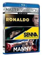 Sport Icon (Ronaldo - Senna - Manny) - Cofanetto Con 3 Blu Ray - Nuovo Sigillato