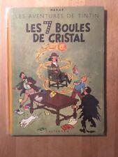 Hergé – Tintin - Les 7 boules de cristal - B2 1948 - Edition Originale! - TBE