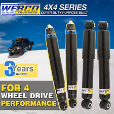 Front + Rear WEBCO Pro Gas Shock Absorbers HOLDEN RODEO R7 R9 96-2003