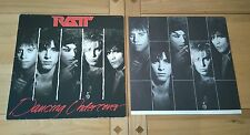 Ratt Dancing Undercover 1986 Euro LP Inner Atlantic A2 B2 Heavy Metal Hard Rock