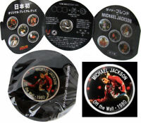 Michael Jackson Pins Pin Badge Gift Coffee Can DYDO PROMO Drink JAPAN 2012