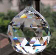 2PCS Crystal Glass Ball Pendulum Lamp Prisms Pendants Rainbows 30mm/*