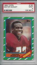 1986 Topps #180 Dexter MANLEY - PSA 9+++ Redskins