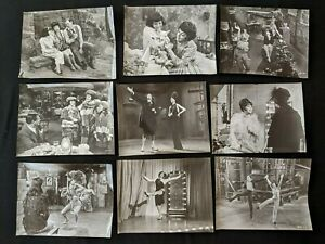 Vintage 1930-40s Hollywood Unknown Actors & Actresses Movie Still Lot - 18pc