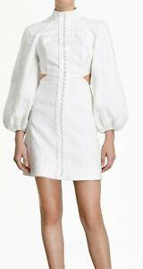 ZIMMERMANN BONITA CORDED SHORT DRESS-$750