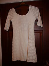 TFNC cream lace design dress - M (8-10 WORN ONCE