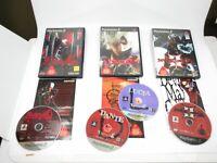 Devil May Cry 1 2 3 set lot of 3 Playstation 2 PS2 Playstation2 NTSC-J Japan F/S