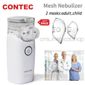 Portable Handheld Ultrasonic Mesh Atomizer Machine Breathing Problems Adult&Kid