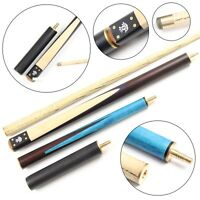 """Jonny 8 Ball 55"""" BLUE RAPID-SHORTEN Double Jointed 3pc Pool Cue + Ext 8.5mm Tip"""