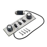 Wired Loaded Control Plate Harness Board for Bass Guitar Accessories F