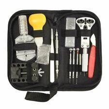 UK 144 PCS Watch Repair Tool Kit Watchmaker Strap Pin Battery Cover Bracelet
